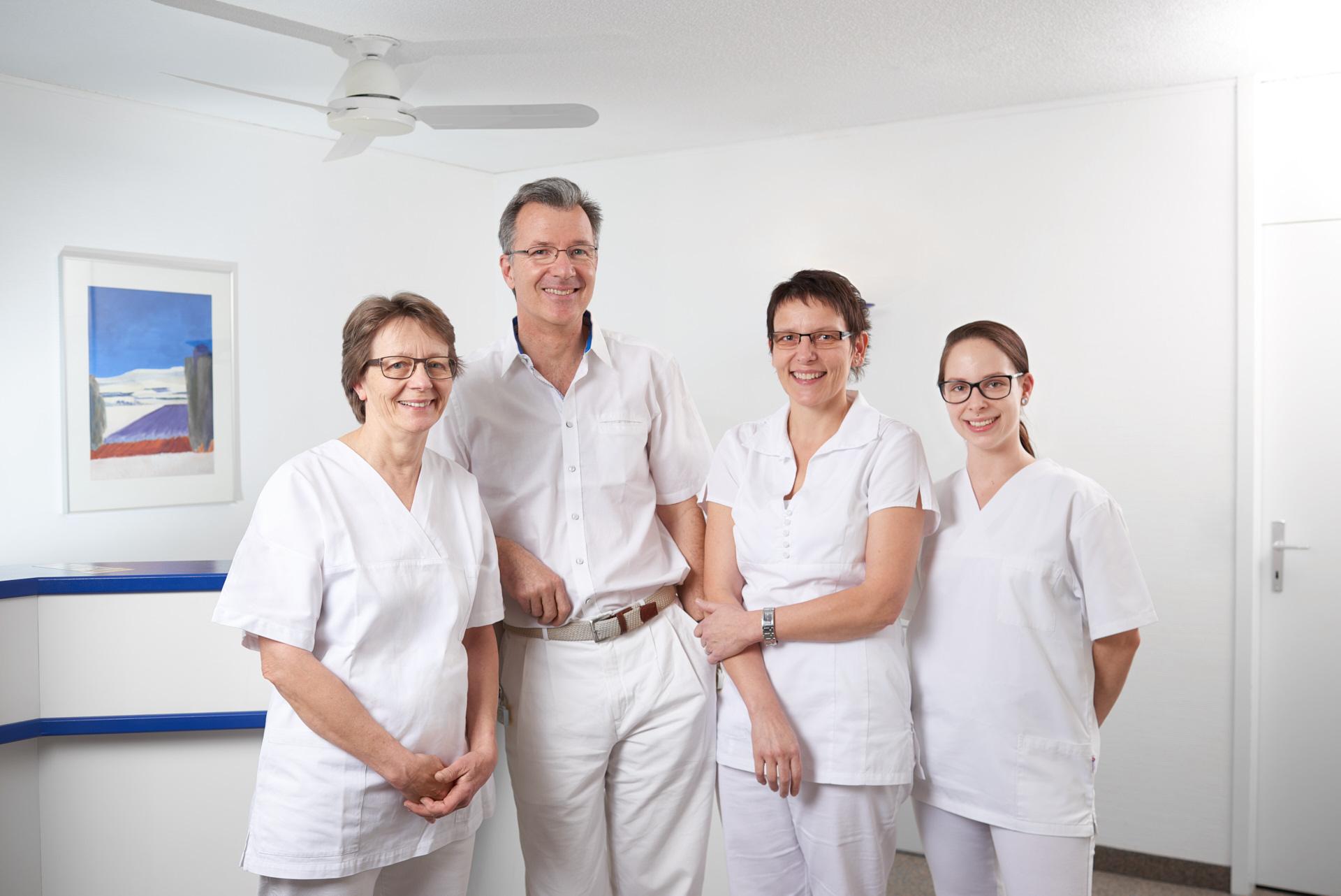 Equipe du Dr. Bugnon à Renens