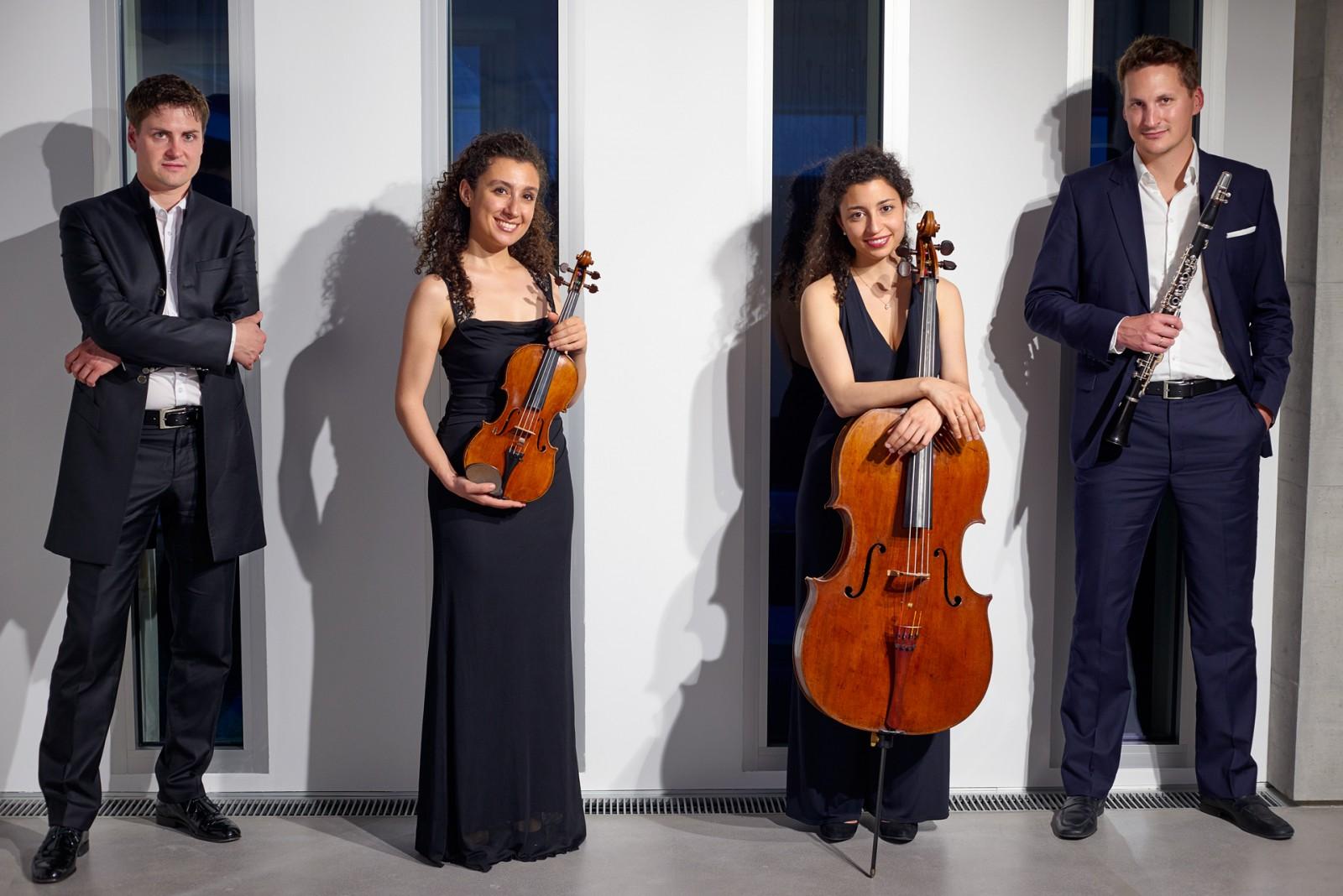 Photo du quatuor Sirano